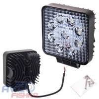 Фара прожектор LML-K0727D FLOOD (9led*2w) 105mm*105mm